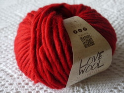 love woll de Katia rouge 115