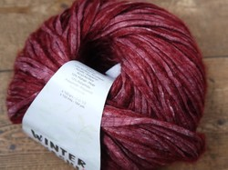 Winter Washi bordeaux 207